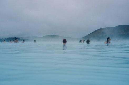 آبگرم لاگون,ایسلند,آب گرم