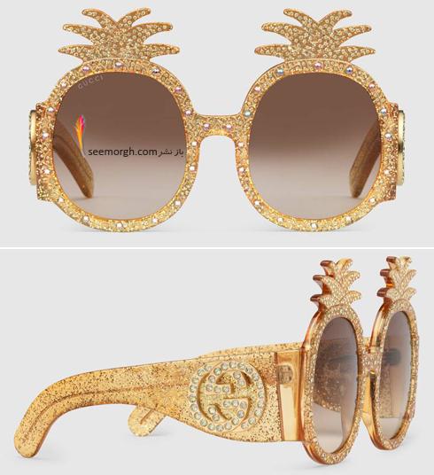 مدل عينک آفتابي زنانه 2018 گوچي Gucci - عکس شماره 14
