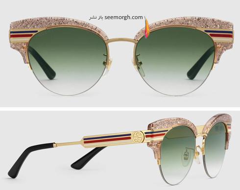 مدل عینک آفتابی زنانه 2018 گوچی Gucci - عکس شماره 4