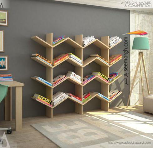 مدل کتابخانه 2018 - عکس شماره 11
