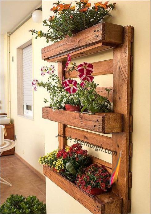 باغچه عمودی آپارتمانی - عکس شماره 2