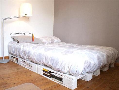 تخت خواب چوبي ارزان قيمت