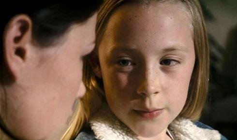 سیرشا رونان در کودکی