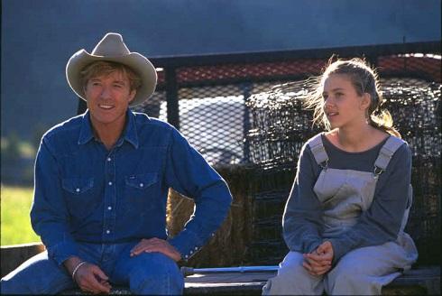 اسکارلت جوهانسون در فیلم نجوای اسب