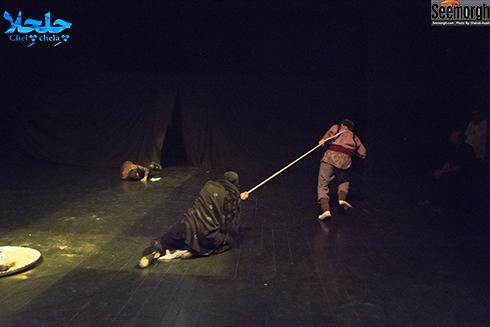 هنرنمایی محسن افشانی و مریم معصومی در نمایش چلچلا