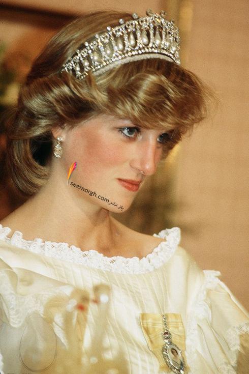 مدل مو پرنسس دایانا Diana در سال 1983