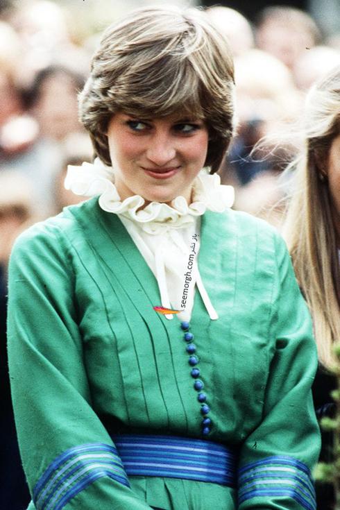 مدل مو پرنسس دایانا Diana در سال 1981