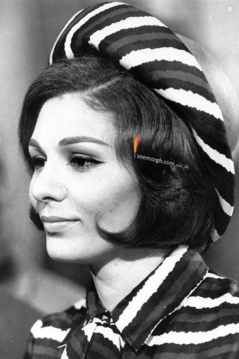مدل مو فرح پهلوی