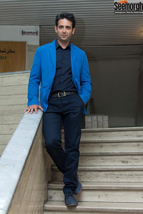 نتیجه تصویری برای امیرحسین ارمان در اکران فیلم پاتو توکفش من نکن