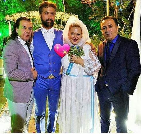 لباس ازدواج بهاره رهنما - عکس شماره 1