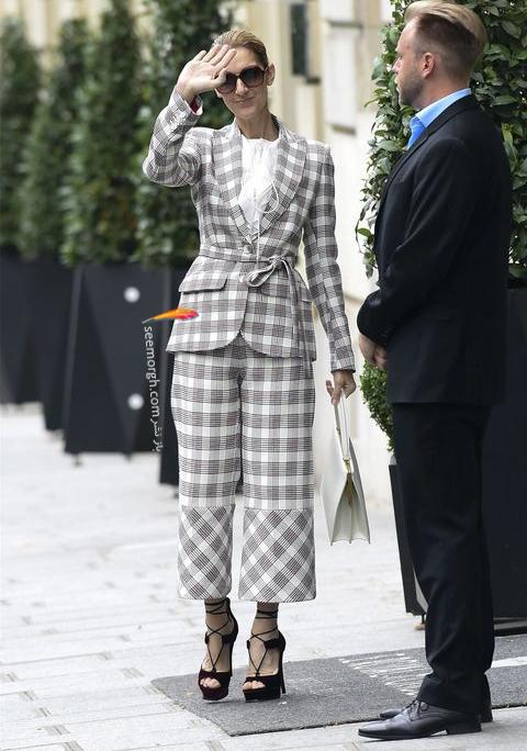 مدل پیراهن و کت و شلوار به سبک سلین دیونی که خاص می پوشد