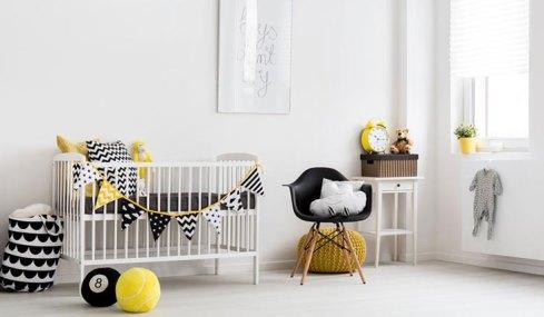 فنگ شویی اتاق نوزاد، گذاشتن گهواره در کنار دیوار