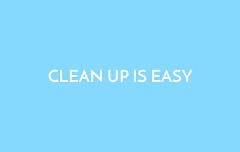 تمیز کردنش راحت است
