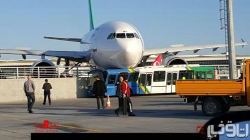 عکس: تصادف هواپیمای ماهان در استانبول