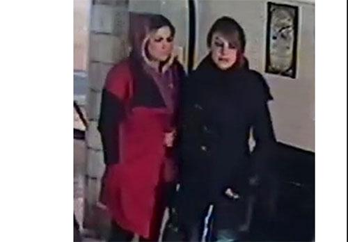 سرقت 2 زن جوان از نمایشگاه خودرو +عکس