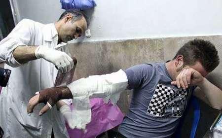 پنج مصدوم بر اثر انفجار مواد محترقه دست ساز در شیراز