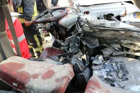 واژگونی اتوبوس 7 کشته و 21 مصدوم داشت