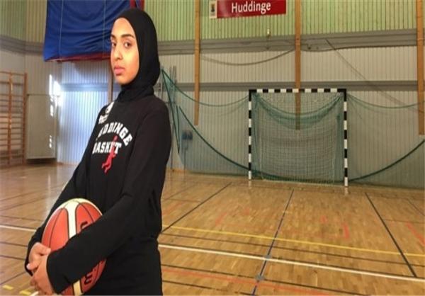 موافقت FIBA با حجاب یک بازیکن زن+ عکس