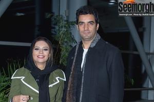 عکس های یکتا ناصر و همسرش در اکران فیلم فصل نرگس