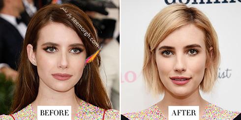 مدل مو جدید اما رابرتز Emma Roberts