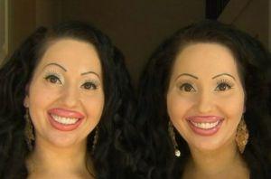عکس جالب از شباهت دو زن غریبه که مثل خواهران دوقلو هستند!