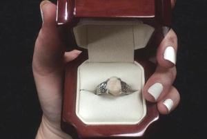 عکس عجیب و چندش ترین حلقه ازدواج را ببینید!