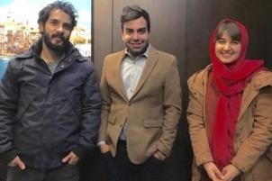 عکس های جدید گلوریا هاردی بازیگر سریال کیمیا و همسرش در شیراز!