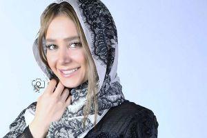 فعالیت الناز حبیبی به عنوان مانکن تبلیغاتی! عکس