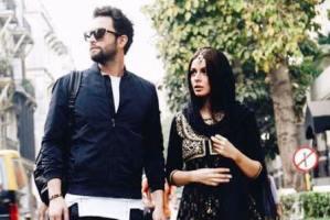 عکس جدید بنیامین بهادری و همسرش