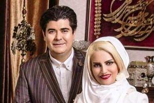 عکس سالار عقیلی و همسرش در آمریکا