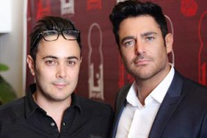 محمدرضا گلزار و برادرش بردیا در رستوران گلزار + عکس