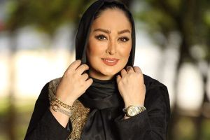 عکس های الهام حميدی بعنوان یک مدل آرایشی!