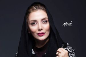 رویا میرعلمی بازیگر 38 ساله قبل و بعد از آرایش کردن!! عکس
