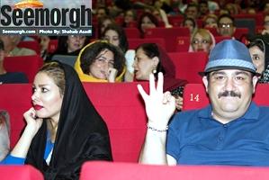 شیطنت های مهران غفوریان در کنار همسرش! عکس