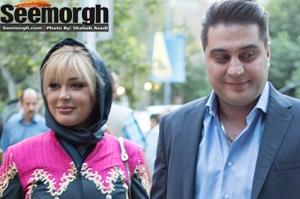 نیوشا ضیغمی و شیلا خداداد در کنار همسران شان در جشن حافظ! عکس