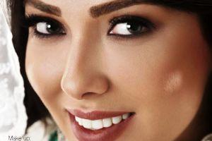 عکس های لیلا اوتادی به عنوان مدل آرایشی!