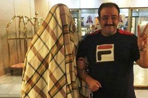 کنار مهران غفوریان درآن عکس جنجالی چه کسی بود؟+ عکس