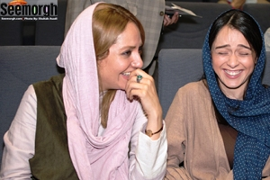 رابطه گرم و خنده های ترانه علیدوستی و مهناز افشار! عکس