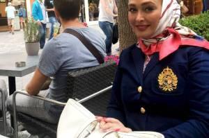 تیپ و پوشش الهام حمیدی در کشور هلند! عکس