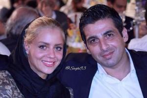 ماندانا دانشور همسر سابق حمید گودرزی به ایران بازگشت + عکس وی در اتومبیلش