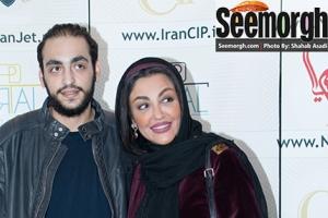 شقایق فراهانی و پسرش و فقیهه سلطانی در اکران فیلم جاودانگی