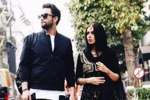 چهره بنیامین بهادری و همسرش شایلی محمودی برروی پوستر سلام بمبئی