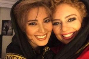بارداری همزمان یکتا ناصر و خواهرش نیکتا ناصر! عکس