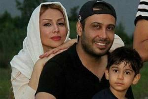 سلفی جدید محسن چاوشی و همسرش