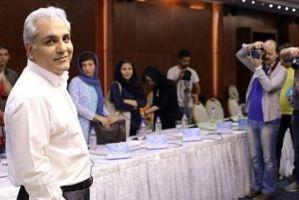 عکس سیامک انصاری و مهران مدیری در بهشت زهرا