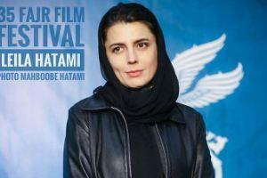 سوژه شدن شلوار لیلا حاتمی در جشنواره فیلم فجر