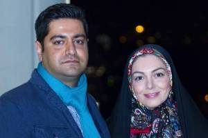 عکس های آزاده نامداری و همسرش سجاد عبادی در جشنواره فیلم فجر
