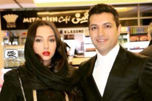 عکس و متن اشکان خطیبی برای همسرش آناهیتا