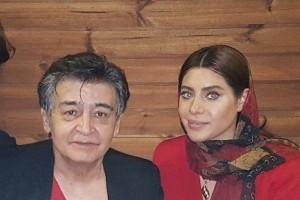 حضور رضا رویگری و همسرش در یک مراسم افطاری! عکس