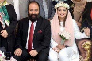 علی اوجی و همسرش نرگس محمدی در مشهد مقدس+عکس